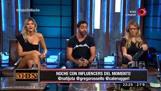 ¡Estamos junto a Nati Jota, Candela Ruggeri y Gregorio Rossello!