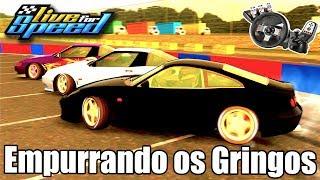 Live For Speed - Empurrando os Gringos no Drift com um 6 caneco! (G27 mod)