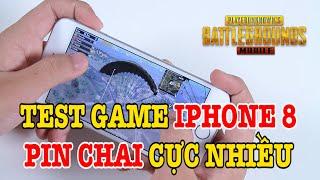 Test game iPhone 8 pin chai còn 86% - Có bị bóp hiệu năng không?