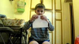 How to make the Paper Airplane (The Moth)