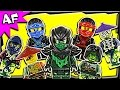 Lego Ninjago Minifigures Ghost Army 2015 Summer Collection video