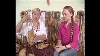 Плетение лаптей