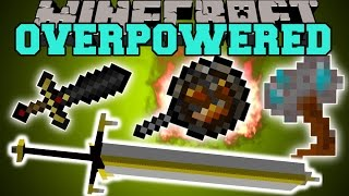 Minecraft: OVERPOWERED WEAPONS (NOTHING WILL STAND IN YOUR WAY!) Mod Showcase thumbnail