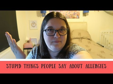 Stupid things people say about allergies / What not to say to someone with allergies / FPIES / CMPA