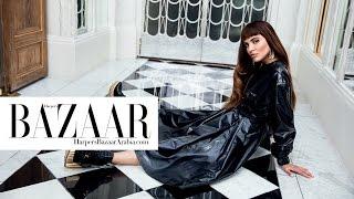 Baixar Negin Mirsalehi for Harper's Bazaar Arabia