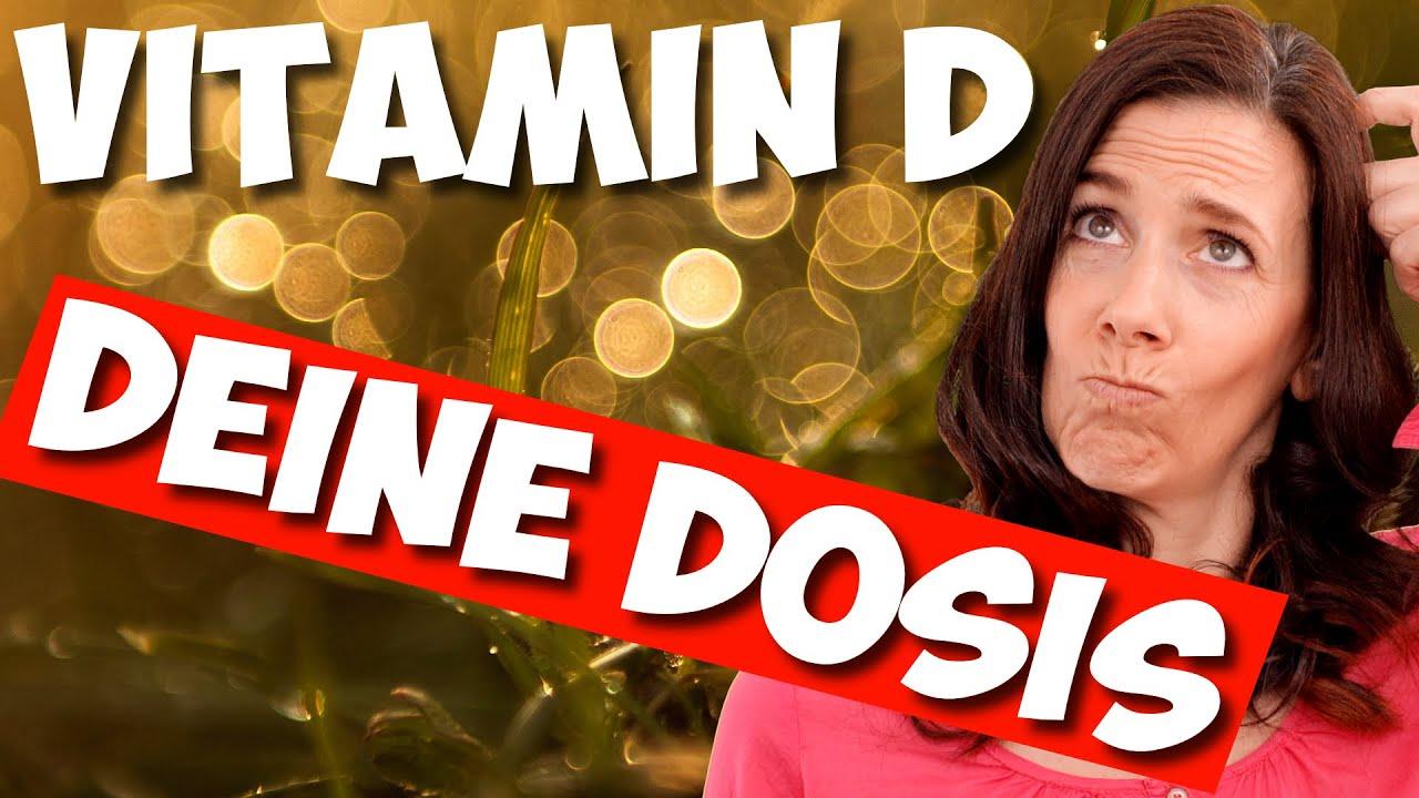 Vitamin D - Wie viel pro Tag? | Dr. Raimund von Helden