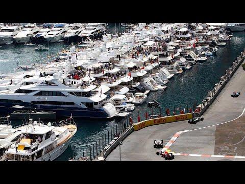 MONACO GP F1 : Le rassemblement des mega-yachts