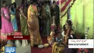 Engagement ceremony of Shivrajkumar's daughter - seg 2 - SuvarnaNews
