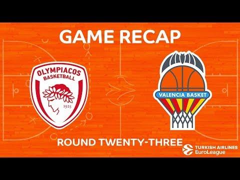 Highlights: Olympiacos Piraeus - Valencia Basket
