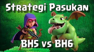 Strategi Baby Dragon + Sneaky Archer BH5 Builder Base Clash of Clans ~ COC Indonesia