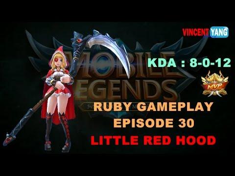 Mobile Legends Ruby Best Build Gameplay Easy MVP Doovi