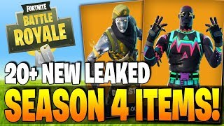 20+ SEASON 4 LEAKED NEW OUTFITS COMING SOON! - Fortnite Battle Royale New Items & Skins!!