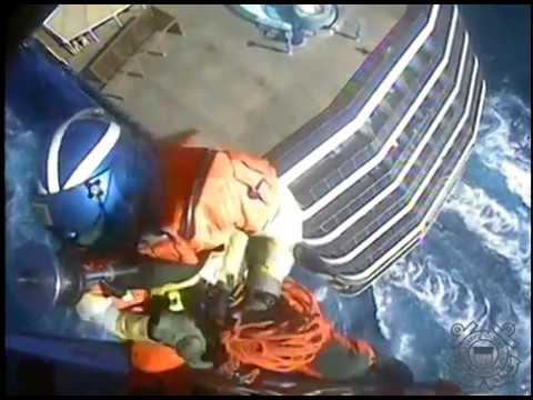 Coast Guard Air Station Savannah crews medevac two cruise ship passengers