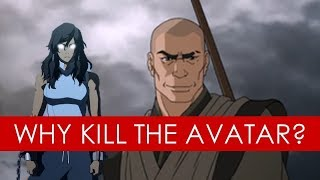 Zaheer: Why kill the Avatar? - video essay [Avatar The Last Airbender/Legend of Korra] thumbnail