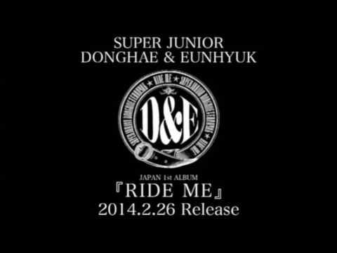 SUPER JUNIOR Donghae _ Eunhyuk [RIDE ME] - 12 Champagne Girl