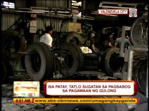 Man killed in Valenzuela factory mishap