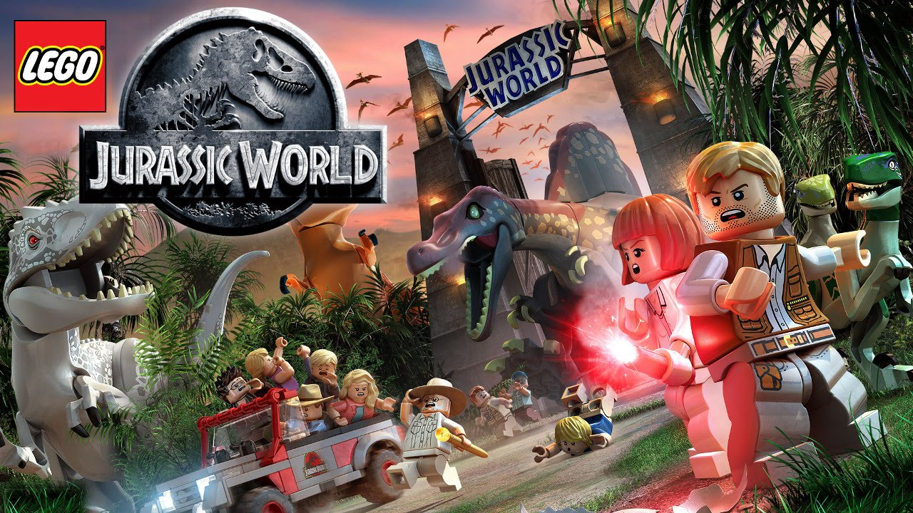 New Lego Games For Ps3 : Lego jurassic world dinosaur game play trailer xbox playstation
