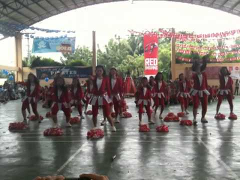 Paref Southcrest Red Team Cheerdance 2012