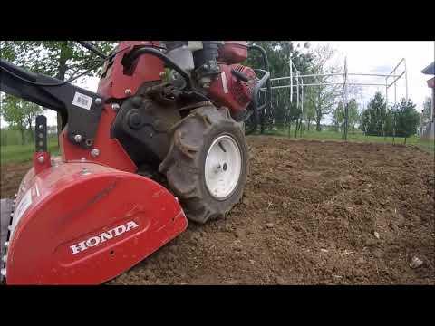 Tilling Up The Soil - Gardening #1