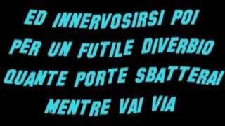 Paolo Meneguzzi - Un giorno che non va testo