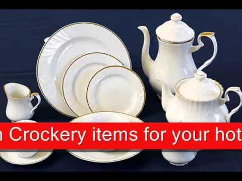 Porcelain Crockery suppliers & Porcelain Crockery suppliers - YouTube