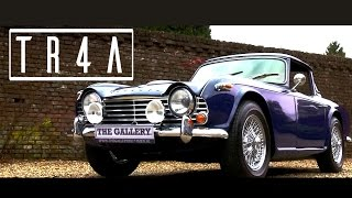 TRIUMPH TR4A 1964 - Test drive in top gear - Engine sound | SCC TV