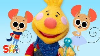 Wind The Bobbin Up | Sing Along With Tobee
