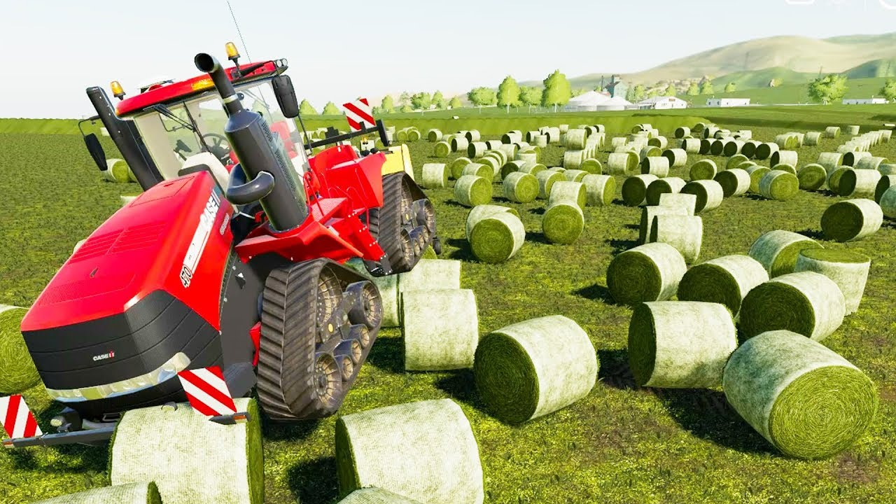 Mowing the Entire World's Lawn - Farming Simulator 19