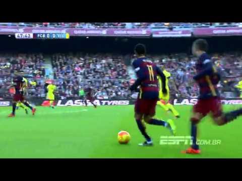 Download Neymar faz golaço   Melhores Momentos  Barcelona 3x0 Villarreal