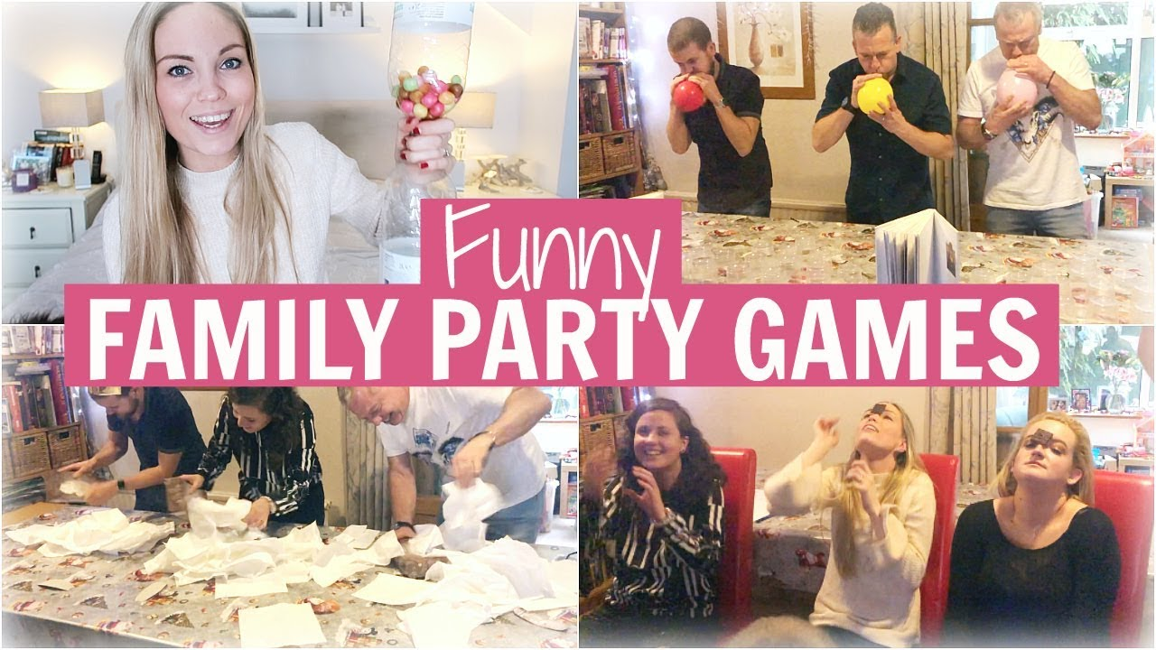 Family Party Games >> Funny Family Party Games Minute To Win It Games Alex Gladwin