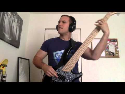 Bass Cover: What A Horrible Night To Have A Curse - The Black Dahlia Murder