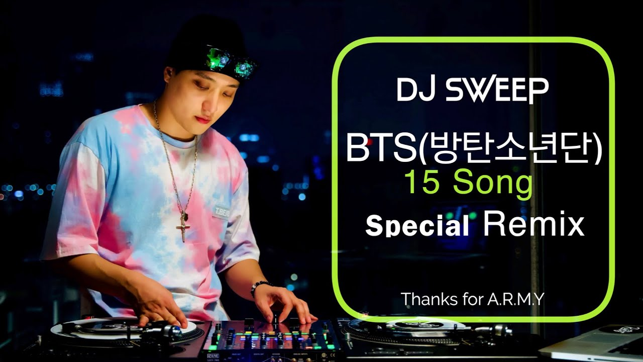2019 KPOP remix  [클럽노래]  DJ Sweep - MIX TAPE NO. 5  BTS(방탄소년단) 15 곡