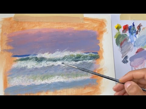 Try these FAST drying Oil Paints| Here is a demo!!