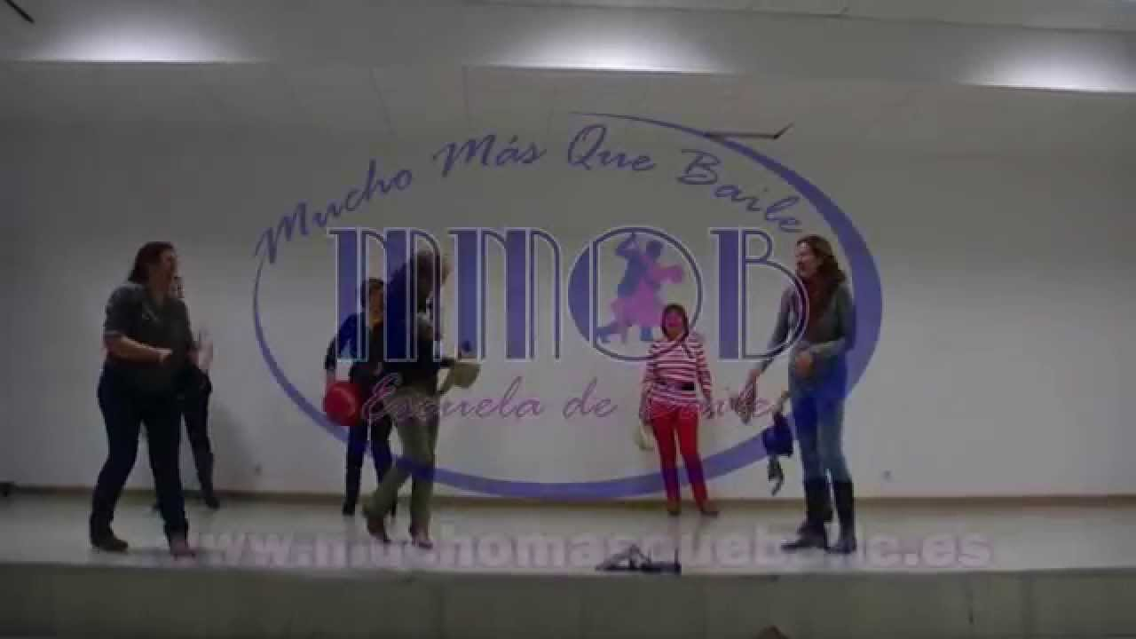 Baile en Grupo (Line Dance) Country Coyote Dax - YouTube
