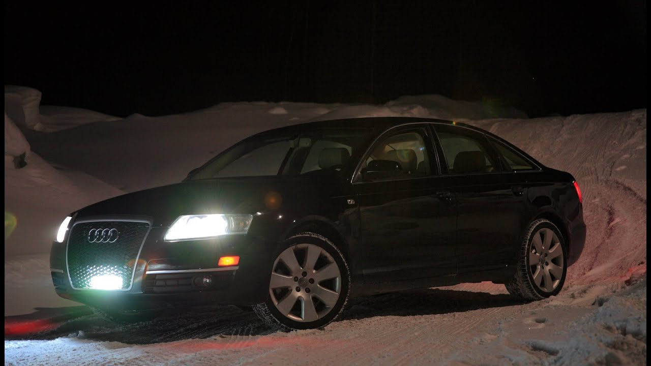 2005 audi a6 lights light bar  [ 1280 x 720 Pixel ]