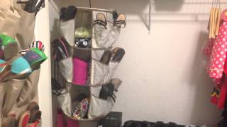 How to organize hallway closet - shoes, jackets and accessories