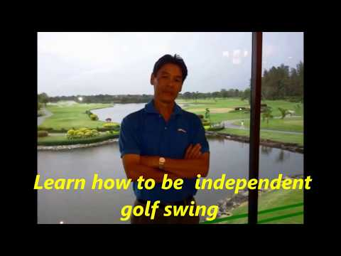 """Learn how to swing golf """"  Golf lessons around Thailand """"How to fix golf swing problems"""