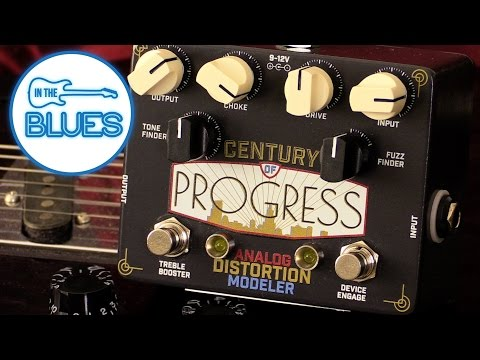 Century of Progress Analog Distortion Modeler Pedal by Dynamo Electric Audio 😎