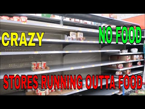 NO FOOD AT THE MARKET AFTER THE HURRICANE