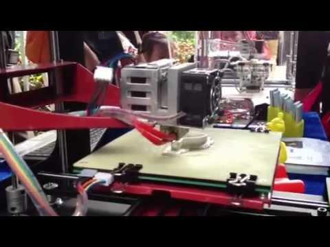 3D Printing Demo at Shenzhen Mini Maker Faire