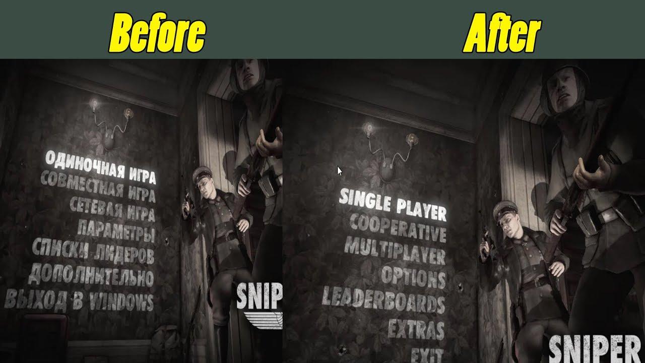 Download Change Sniper Elite Volume 2 Language-How To Change Sniper Elite Language | Sniper Elite V2 Language