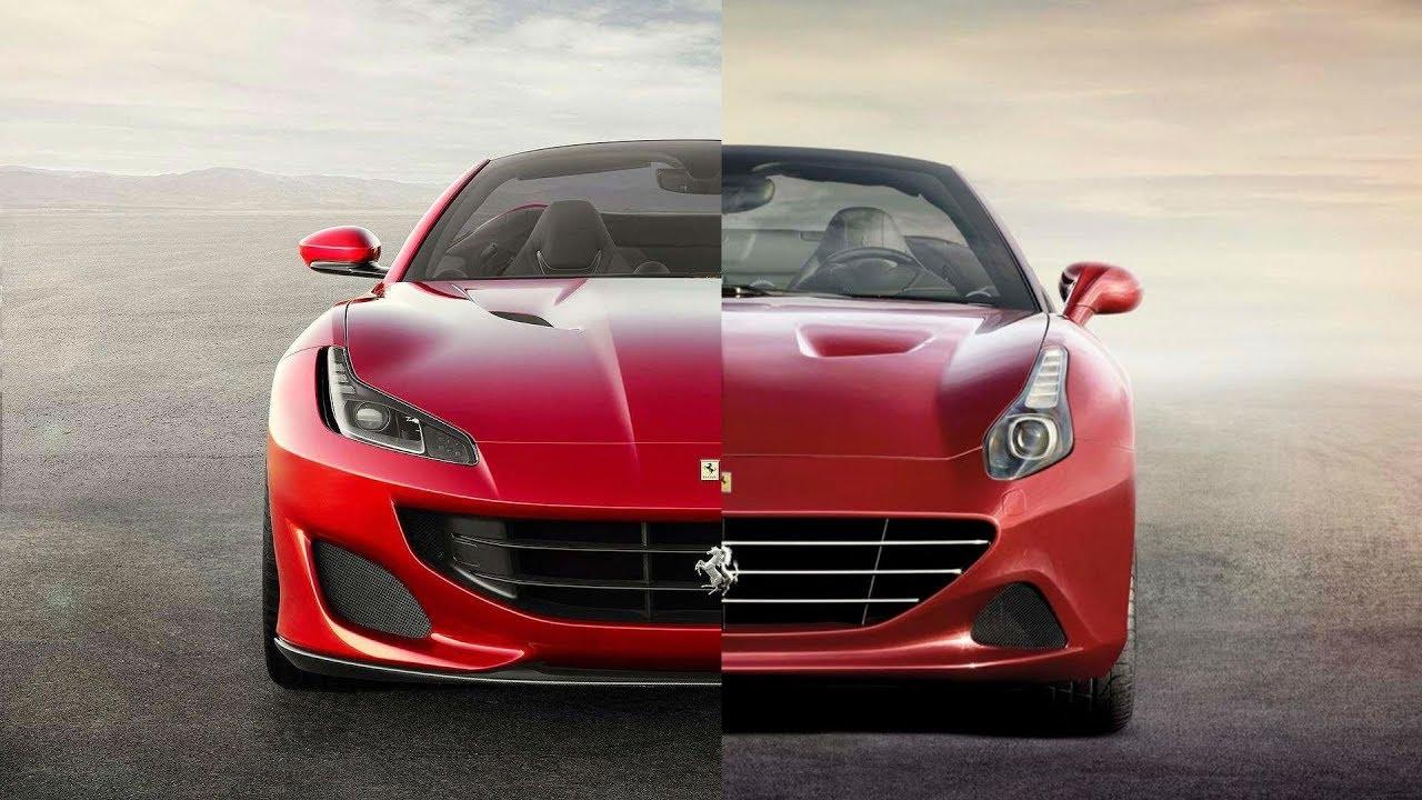 2018 Ferrari Portofino Vs California T