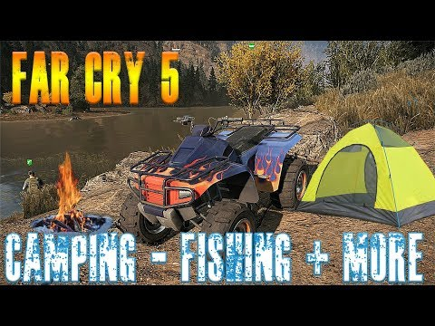 Far Cry 5 Camping Fishing + New ATV And More