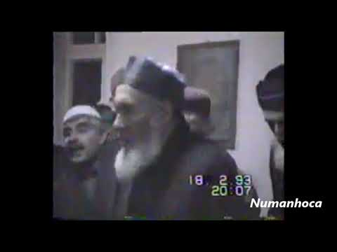 HU DİYE HU DİYE DÖNER DERVİŞER / İBRAHİM İPEK EFENDİ 1993 ANKARA ZİKİR