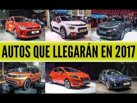 17 autos que llegar n en el 2017 al Per Car Motor