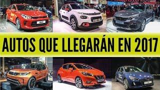 17 autos que llegarán en el 2017 al Perú - Car Motor