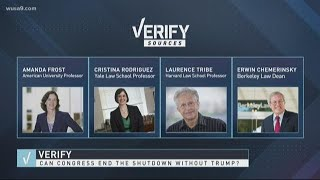 VERIFY: Yes, Congress can end the government shutdown without President Trump