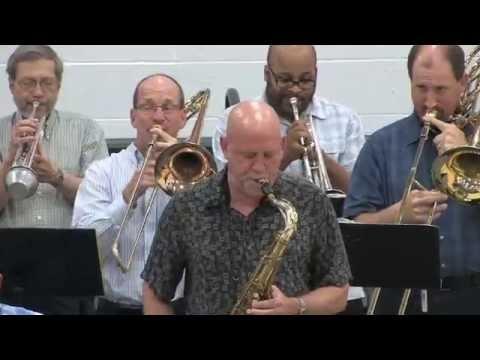 Omaha Big Band at the 2015 Glenn Miller Festival