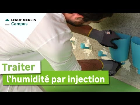 Comment Traiter L Humidite Par Injection Leroy Merlin Youtube