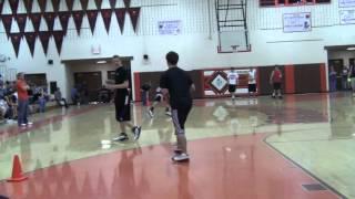 crazy backflip over a dodgeball
